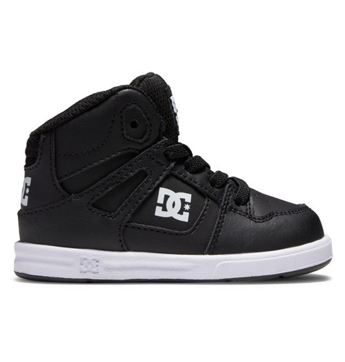 DC - Footwear Youth Shoes - Toddler's Pure Hi High Shoes - Black/White