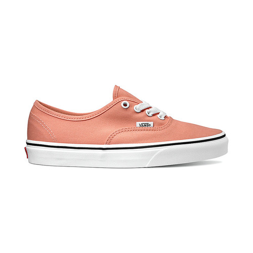 002ecb28235a Vans Women's Shoes - Authentic - Peach Pink/True White - Surf and Dirt
