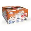 Satco 16 oz Round Plastic Pots & Lids 'M12' - SHOPLER.CO.UK