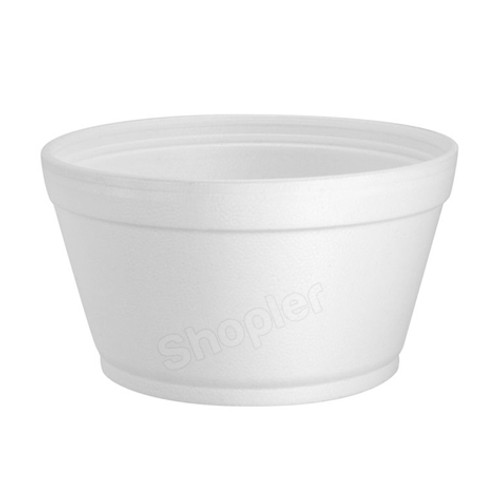 Dart 16MJ32 Polystyrene Container White 16oz - SHOPLER.CO.UK