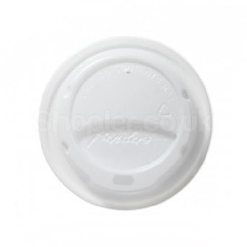 Bender Hot Plastic Lid [8/9 & 10oz] White Domed - SHOPLER.CO.UK