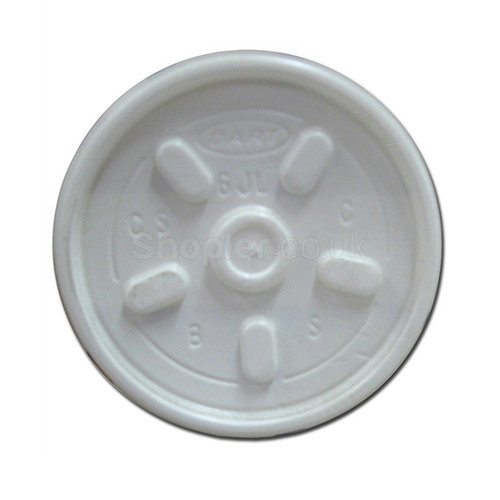 Dart [6JLTRPF] Plastic Lid Vent Translucent - SHOPLER.CO.UK