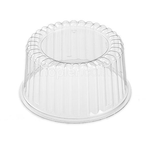Actipack [16DX03] Clear Domed Lid [6x3Inch] - SHOPLER.CO.UK