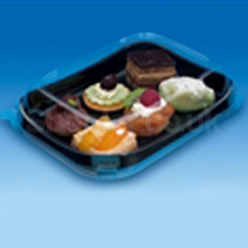 GPI Snackipack [79SKN] Black Tray a pack of 200 - SHOPLER.CO.UK