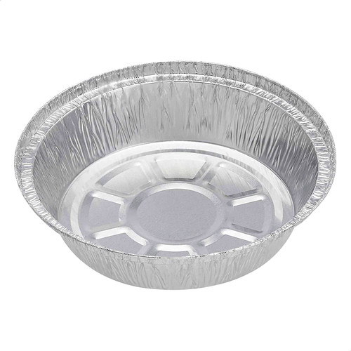 No12 Foil Container [7Inch] Round  a pack of 400 - SHOPLER.CO.UK