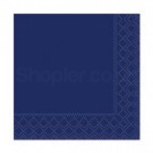 Poppies Napkin Midnight Blue 2ply [33x33cm] - SHOPLER.CO.UK