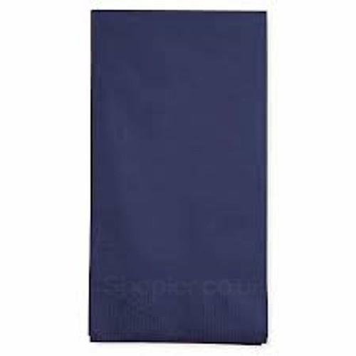 Poppies Napkin Midnight Blue 8 Fold 2ply [40x40cm] - SHOPLER.CO.UK