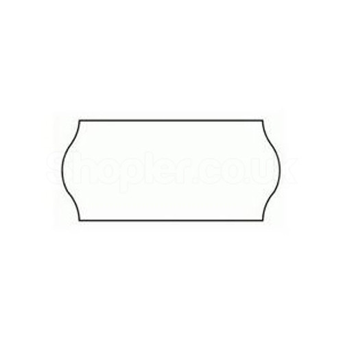 Price Label [CT4] White a pack of 45000 - SHOPLER.CO.UK