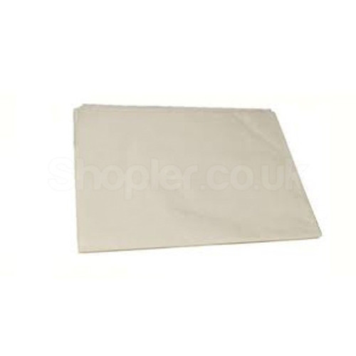 Pure Bleached Greaseproof Paper [225x350mm] 34gsm - SHOPLER.CO.UK