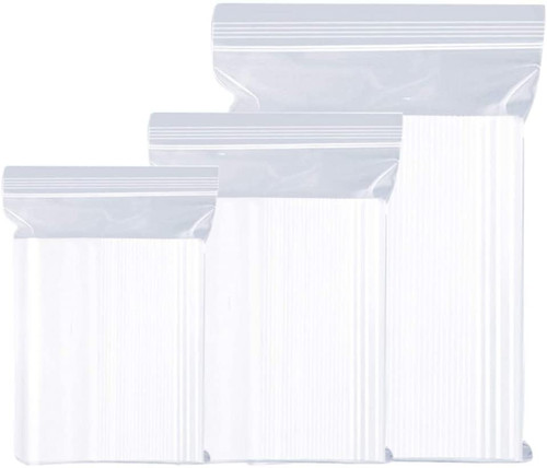 Self Sealed Clear Bag [4.5x4.5Inch] a pack of 100 - SHOPLER.CO.UK