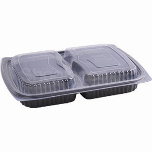 Somoplast [821/825] Clear 2comp Microwavable Lid - SHOPLER.CO.UK