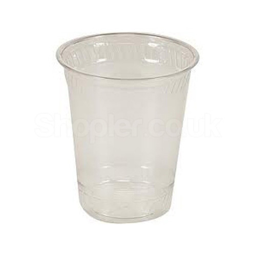 Somoplast [HoLiday] Plastic Clear Water Cups [7oz] - SHOPLER.CO.UK