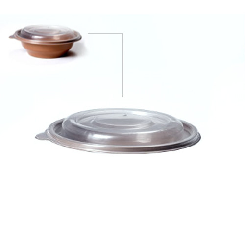 Somoplast Lid for Brown Salad Bowl a pack of 300 - SHOPLER.CO.UK