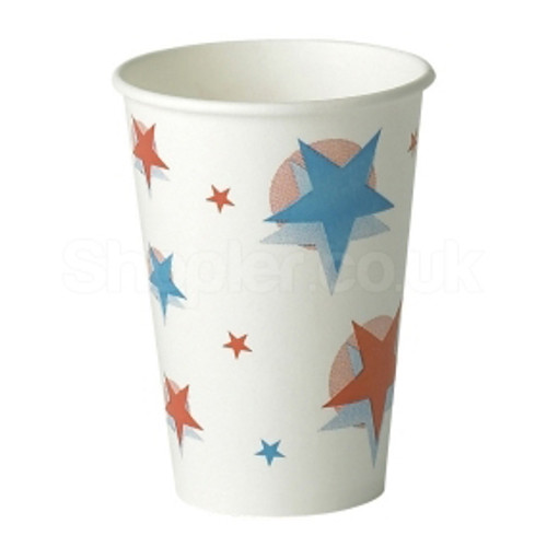 Dispo Starball Paper Cup Cold [12oz] 340ml a pa - SHOPLER.CO.UK
