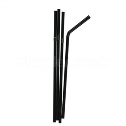 Swantex Stripped Flexi Straws Pack of 250