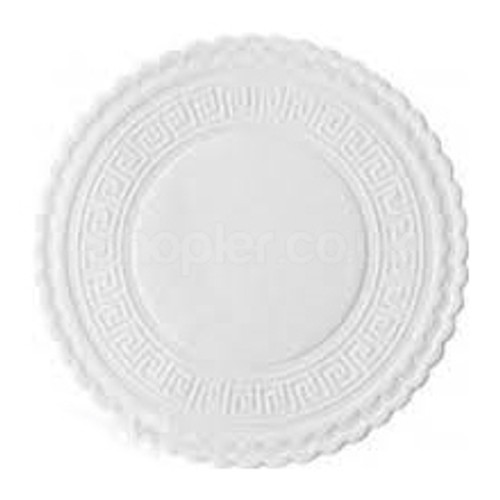 Swantex Plain White Coasters 80mm - SHOPLER.CO.UK