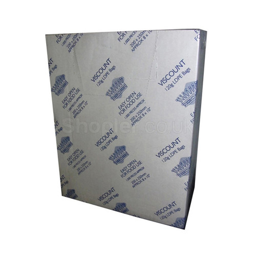 Viscount Clear Polythene Bag [24x36Inch] 250G - SHOPLER.CO.UK