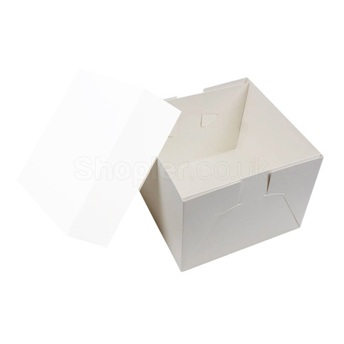 Wedding Cake Box Base [9x9x6Inch], Cake Box 9x9x6 - SHOPLER.CO.UK