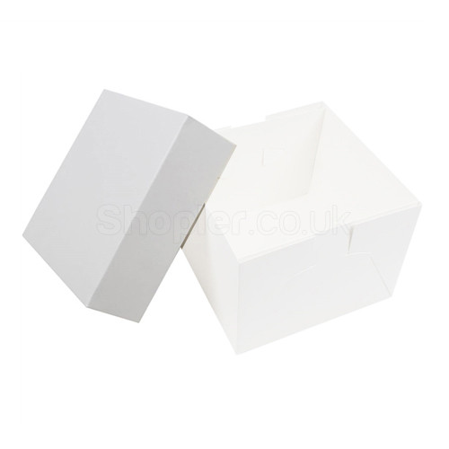 Wedding Cake Box Lid [9x9x2.5Inch] a pack of 50 - SHOPLER.CO.UK