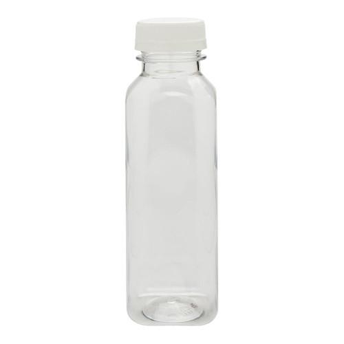 Juice Bottle 1 Litre White & Caps - SHOPLER.CO.UK
