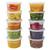 Satco Round Plastic Deli Pots Containers - SHOPLER.CO.UK