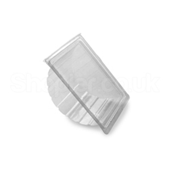 Bagel Hinged Plastic Container [RB0200] - SHOPLER.CO.UK