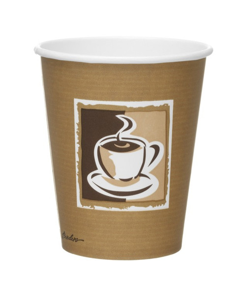 Bender Coffee Paper Cup Hot [8/9oz] 250ml a pac - SHOPLER