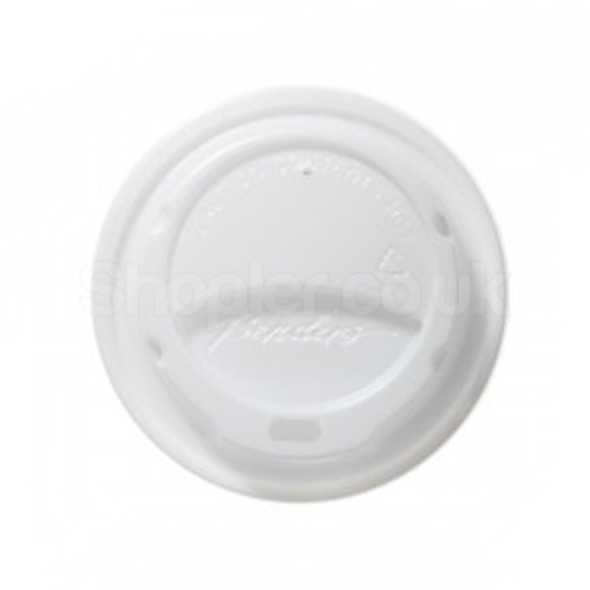 Bender Hot Plastic Lid [8/9 & 10oz] White Domed - SHOPLER