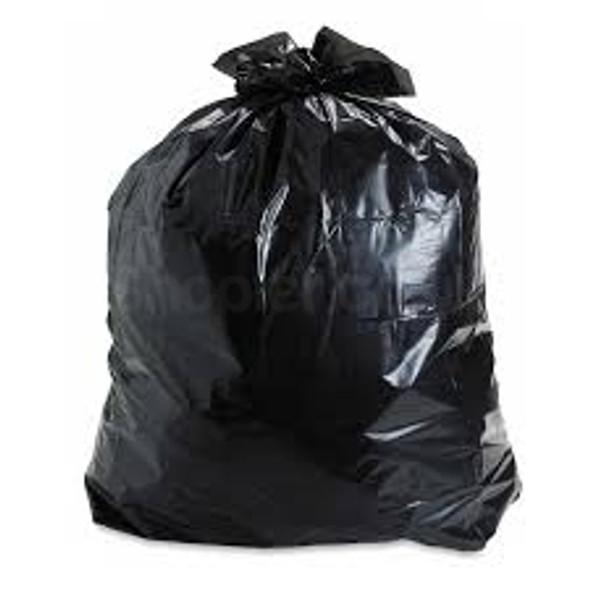 Black Refuse Bag [18x29x39Inch] 160G a pack of 200 - SHOPLER.CO.UK