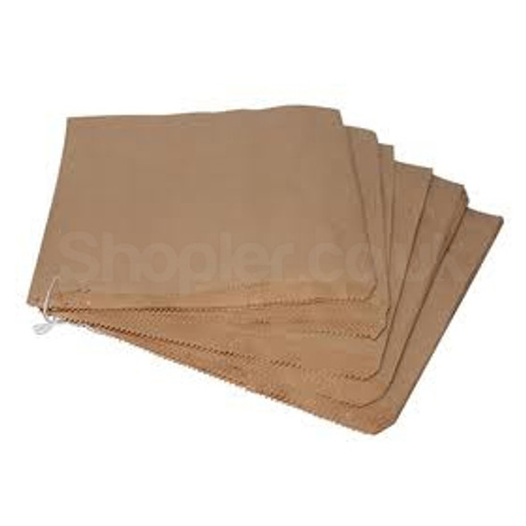 Brown Kraft Paper Bag [13x14Inch] Strung - SHOPLER.CO.UK