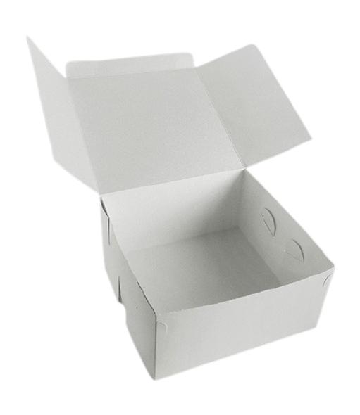 250 x Cake Box - 3x3x6inch - SHOPLER