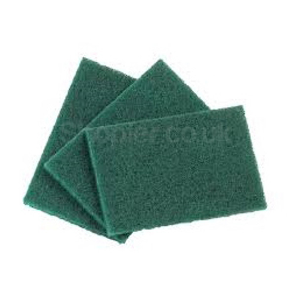 Catering Scourer Green a pack of 10 - SHOPLER.CO.UK