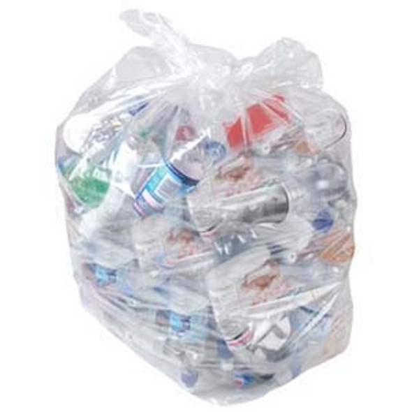 Clear bin Bag Polythene [18x29x39Inch] 160G - SHOPLER