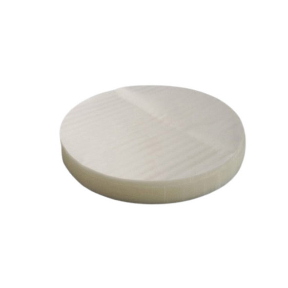 Clear Burger Disc [4Inch] a pack of 5000 - SHOPLER
