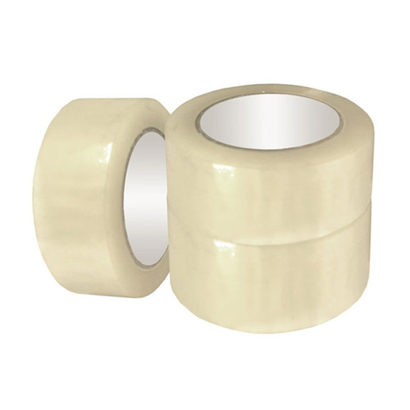 """Clear Parcel Tape 2"""" a pack of 6 - SHOPLER"""