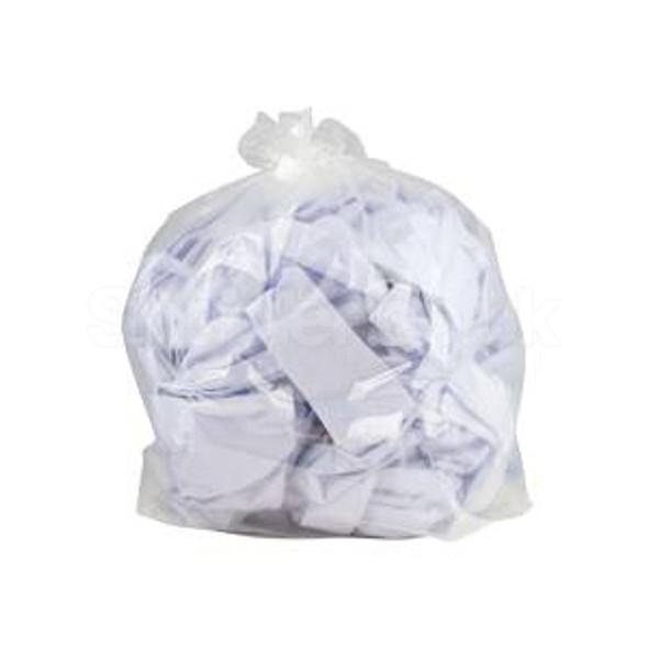 Clear Refuse Sacks 120g 18 x 29 x 39Inch a pack o - SHOPLER.CO.UK