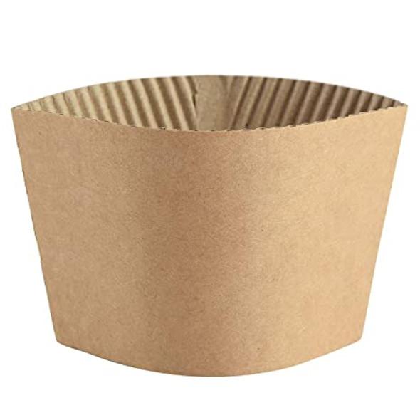 Coffee Clutch Brown [12oz - 16oz] Plain - SHOPLER