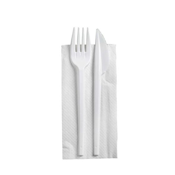 Cutlery Pack Napkin, Fork, Knife - SHOPLER