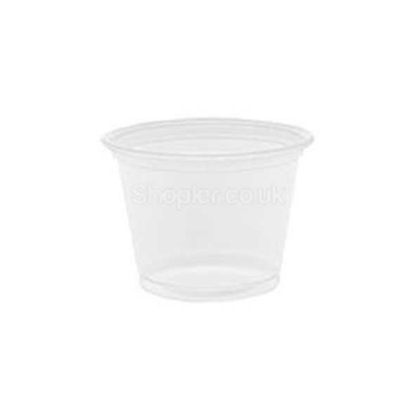 Dart Container Clear 4 oz Plastic Portion - SHOPLER