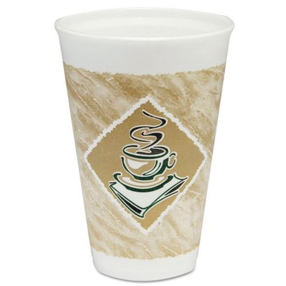 Dart 4J4G Polystyrene Cup Cafe G - 4oz