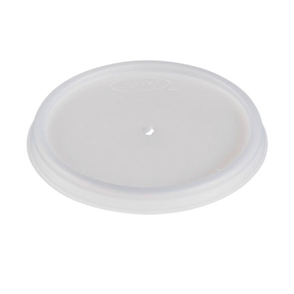 Dart 4JL Plastic Lid Vent Translucent 4oz - SHOPLER