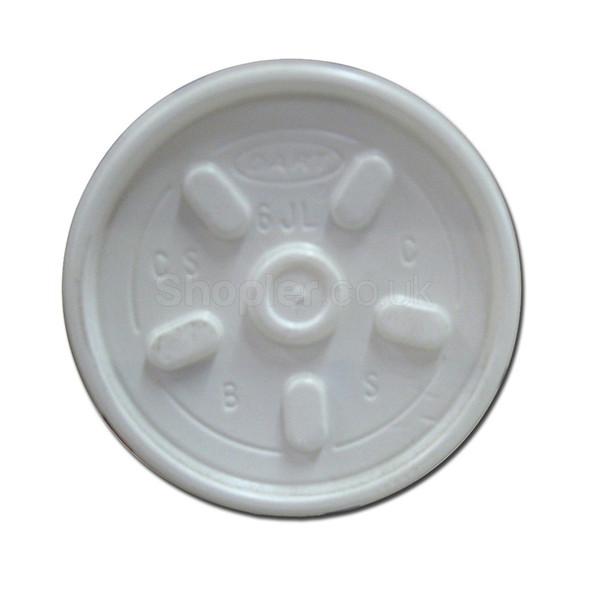 Dart [6JLTRPF] Plastic Lid Vent Translucent - SHOPLER