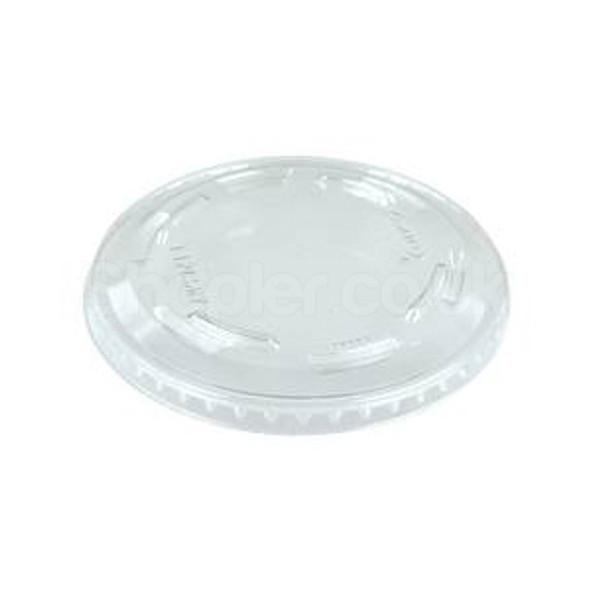 Dart L10CNV Plastic Flat Lid 10oz - SHOPLER
