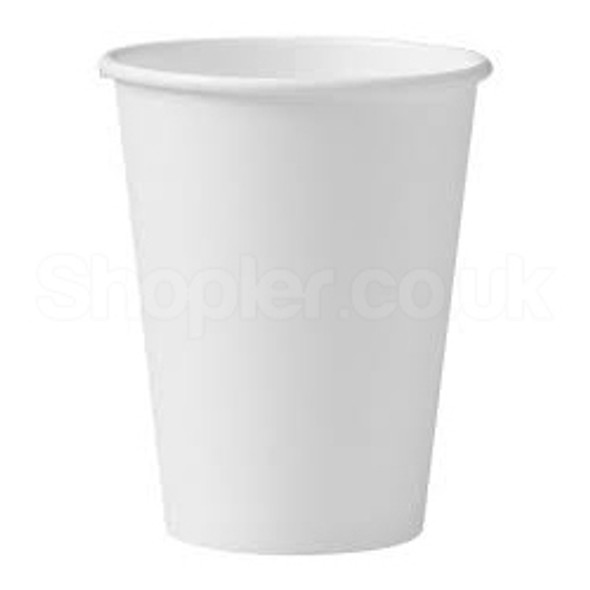 Go Pack Double Wall White Paper Cup Hot 12oz 340 - SHOPLER