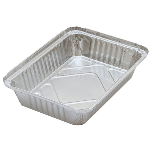 Nicholl [830860-502] Foil Container [6x8.2x2Inch] - SHOPLER.CO.UK