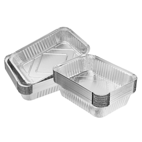 Foil Container - 7x9x1.5inch - SHOPLER