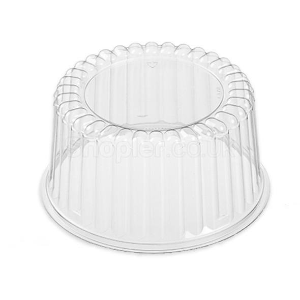 GPI Actipack [22DX03] Clear Cake Domed Lid [8.5x3i - SHOPLER