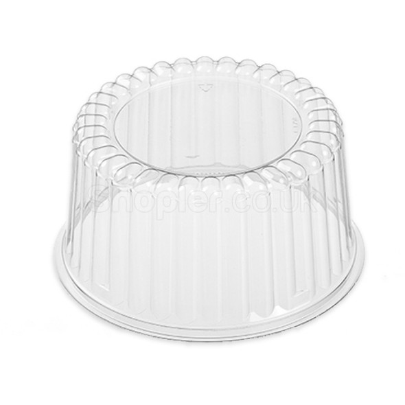 Actipack [29DX03] Clear Cake Domed Lid [11x3Inch] - SHOPLER.CO.UK