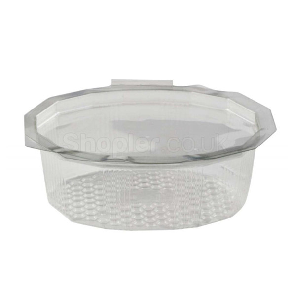 GPI Elipack [E750] Oval Hinged Salad Container [75 - SHOPLER.CO.UK