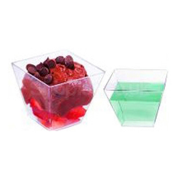GPI Moulipack Clear hard Disposable Glass [60cc] - SHOPLER